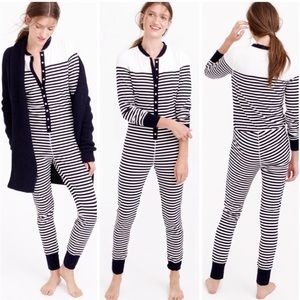 J.CREW Sailor Striped Union Suit